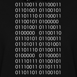 Science is Fucking Awesome (Binary Code) - Women's Hoodie