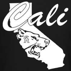 CALI Bear Map Long Sleeve Shirts