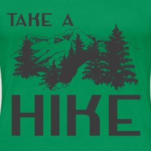 Take a Hike Women's T-Shirts - Women's Premium T-Shirt