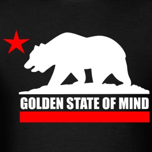 CALI Golden State of Mind T-Shirts - Men's T-Shirt