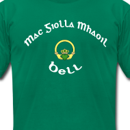Design ~ Bell Family Claddagh Tee for Men