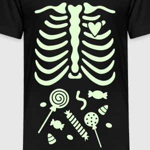 Ribcage with Candy Belly Baby & Toddler Shirts - Toddler Premium T-Shirt