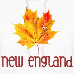 Autumn New England Leaf Hoodies - Women's Hoodie