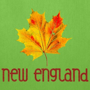 Autumn New England Leaf Bags & backpacks - Tote Bag