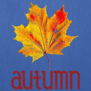 Old Vintage Autumn Leaf Bags & backpacks - Tote Bag