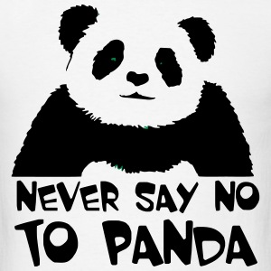 never_say_no_to_panda T-Shirts - Men's T-Shirt