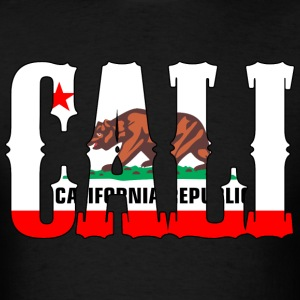 Cali Republic Bear T-Shirts - Men's T-Shirt