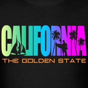 California Beach Golden State T-Shirts - Men's T-Shirt