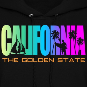 California Beach Golden State Hoodies - Women's Hoodie