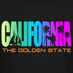 California Beach Golden State Long Sleeve Shirts