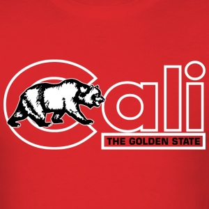 Cali The Golden State T-Shirts - Men's T-Shirt