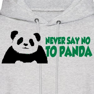 never_say_to_panda3 Hoodies - Men's Hoodie