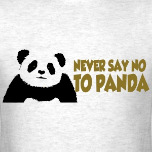 never_say_to_panda3 T-Shirts - Men's T-Shirt