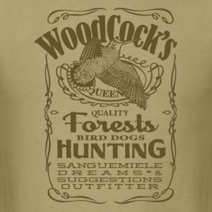 woodcock_label_positive T-Shirts - Men's T-Shirt
