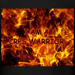 crps_warrior_on_fire_background222b T-Shirts - Men's T-Shirt