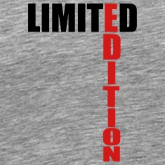 Limited Edition Text Logo T-Shirts