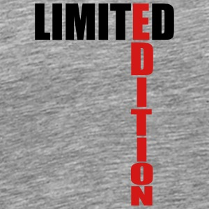 Limited Edition Text Logo T-Shirts - Men's Premium T-Shirt