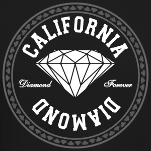 California Diamond Long Sleeve Shirts - Crewneck Sweatshirt