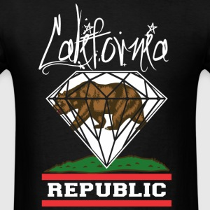California Diamond Republic T-Shirts - Men's T-Shirt