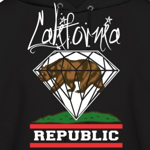 California Diamond Republic Hoodies - Men's Hoodie