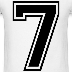 Number 7 - Men's T-Shirt