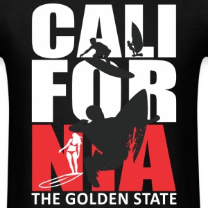 California Surfing The Golden State T-Shirts - Men's T-Shirt