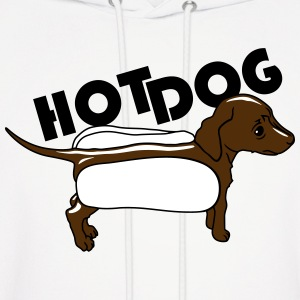 Hot dog Hoodies - Men's Hoodie