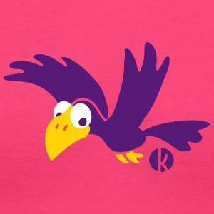 Crow Raven Bird Women's T-Shirts - Women's V-Neck T-Shirt