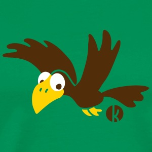 Crow Raven Bird T-Shirts - Men's Premium T-Shirt