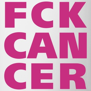 FCK Cancer Bottles & Mugs - Coffee/Tea Mug