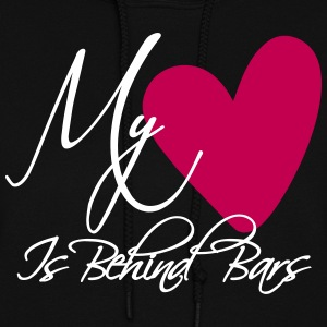 My Heart Is Behind Bars Hoodies - Women's Hoodie