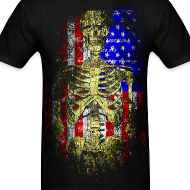 Design ~ American Death T-Shirt