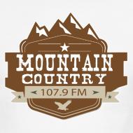 Design ~ Mountain Country 107.9 Men's Ringer