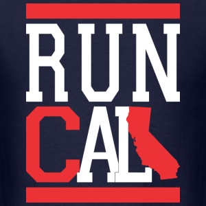 Run Cali T-Shirts - Men's T-Shirt