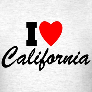 I Heart California T-Shirts - Men's T-Shirt