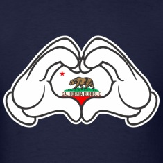 Mickey Hand Cal Republic T-Shirts