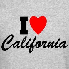 I Heart California Long Sleeve Shirts