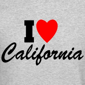I Heart California Long Sleeve Shirts - Crewneck Sweatshirt