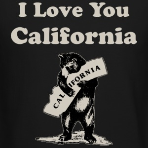 I Love You California Long Sleeve Shirts - Crewneck Sweatshirt