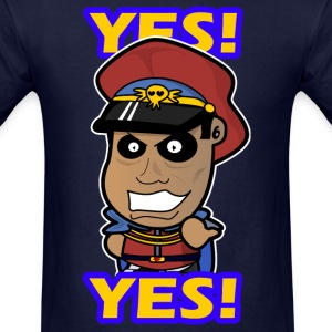 M. Bison - Yes  T-Shirts - Men's T-Shirt