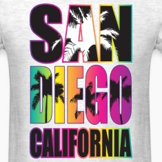 San Diego Beach California T-Shirts