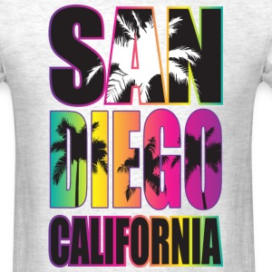 San Diego Beach California T-Shirts - Men's T-Shirt