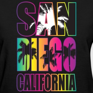 San Diego Beach California Women's T-Shirts - Women's T-Shirt