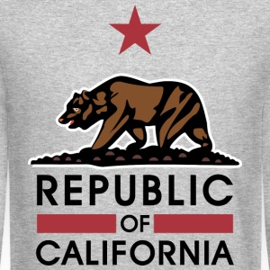 Republic Of California Long Sleeve Shirts - Crewneck Sweatshirt