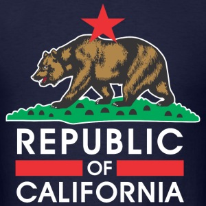 Republic Of California R&B T-Shirts - Men's T-Shirt