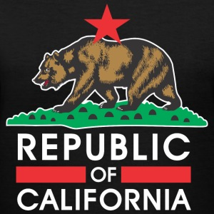 Republic Of California R&B Women's T-Shirts - Women's V-Neck T-Shirt