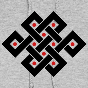 Tibetan endless knot, eternal, infinity, celtic Hoodies - Women's Hoodie