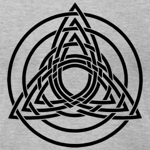 Triquetra, Germanic paganism, Celtic art, T-Shirts - Men's T-Shirt by American Apparel