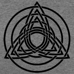 Triquetra, Germanic paganism, Celtic art, Long Sleeve Shirts - Women's Wideneck Sweatshirt