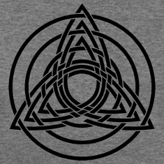Triquetra, Germanic paganism, Celtic art, Long Sleeve Shirts
